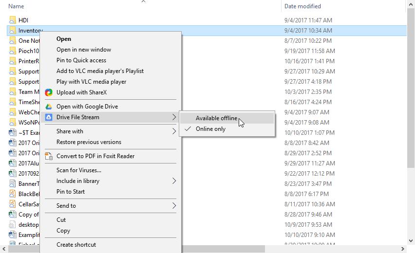 Article - Google Drive File Stream